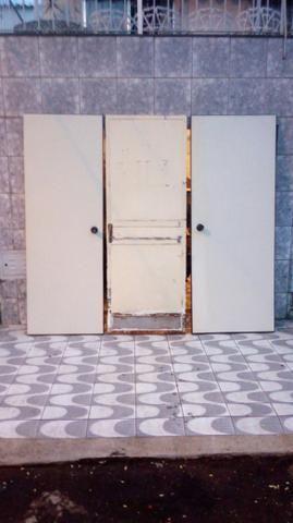 Porta de ferro e madeira - Foto 2