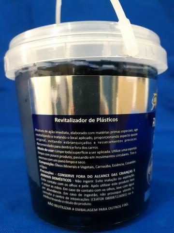 Revitalizador de plásticos (com cera de carnaúba) - 400 G - Foto 3