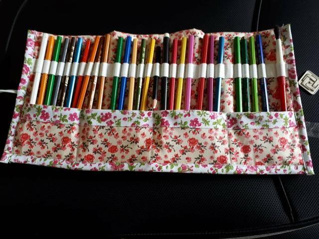 Penais pra lápis de cor super lindos - Foto 2