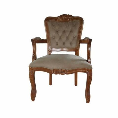 Poltrona Luis XV padrão imbuia - Foto 2