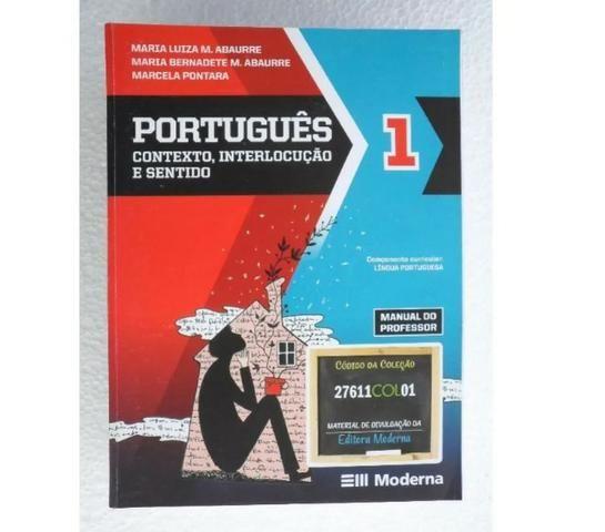 Português - Contexto, Interlocução e Sentido - 3 Volumes - Ensino Médio Completo