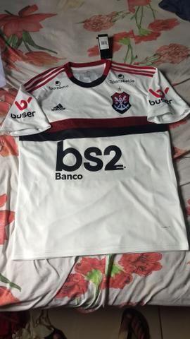 Camisa Flamengo com Patrocinios