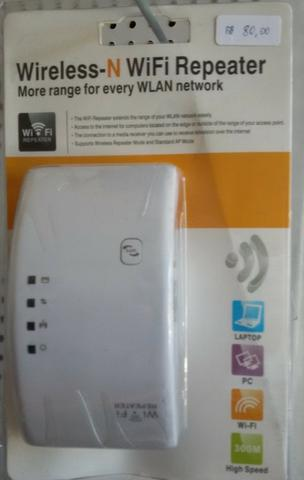 Aparelho repetidor Wifi melhora o sinal Wifi (300mbps)