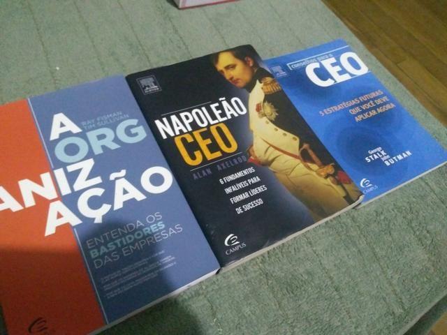 Livros sobre administração