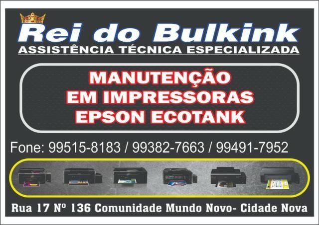 Epson L396 L455 L4150 L4160 L555 L565 Manutenção