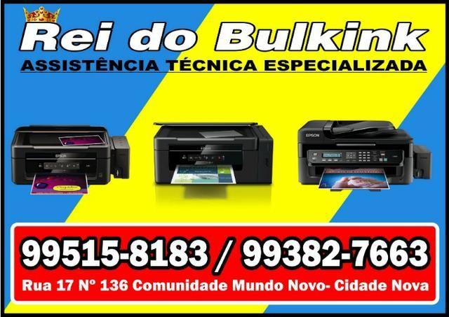 Epson L120 L220 L355 L365 L375 L395 Manutenção