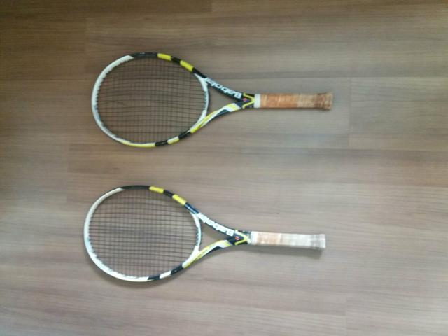 Par de raquete babolat aero