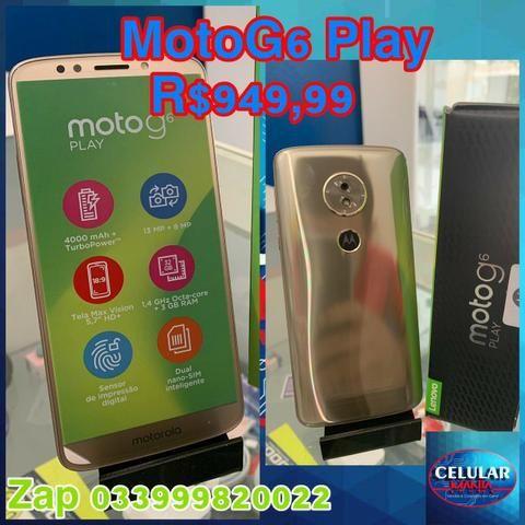 Motorola Moto G6 Play 32GB Novo Com NF e Garantia De 1 Ano