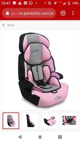 Cadeira baby style ate 36 kilos , com cinto , parcele em ate 10x