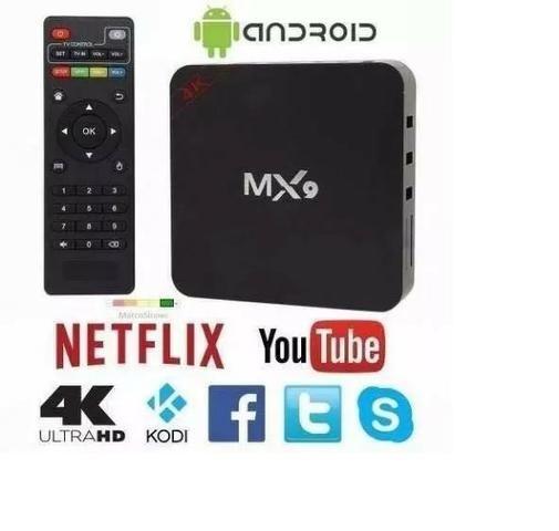TV Box Mx9 Ultra HD 4K - Whatssap: 62 8464-7250