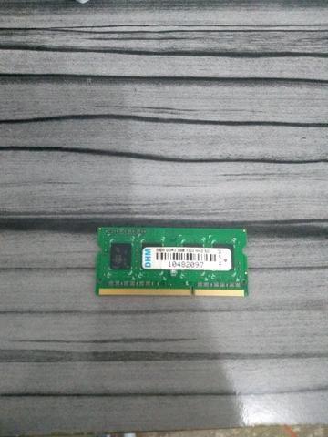 Memória RAM 2G DDR3