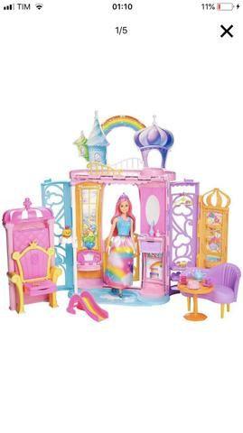 Vendo Castelo da Barbie NOVO Lacrado.
