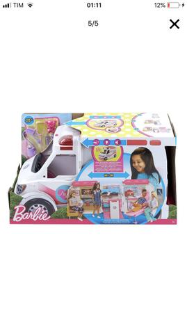 Vendo Ambulância da Barbie! Lacrada.