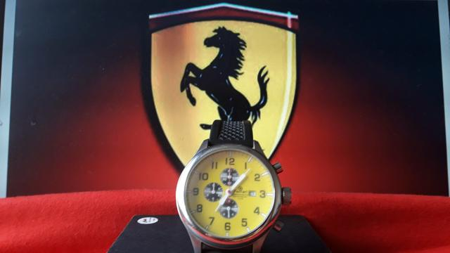 Relógio original ferrari masculino e feminino