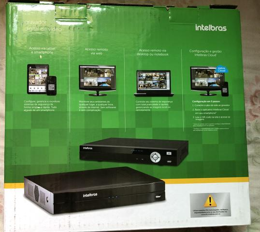 DVR Intelbras 8 Canais + HD 2 Tera Novo