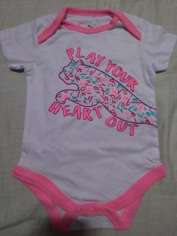 724901cc321 Body da marca Puma original e novo. Roupa de bebê menina - Artigos ...