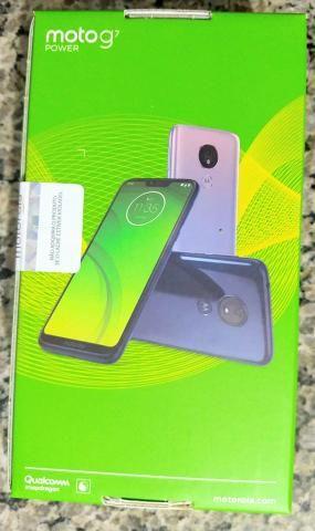0b15c37f772 Smartphone Motorola G7 power 32GB azul Navy 4G - 3GB ram Tela 6,2 ...