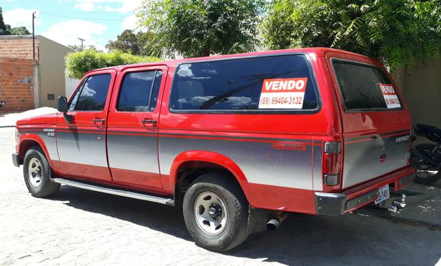 D 20 Veraneio -12 Lugares + bagageiro/Diesel - Motor Pericles 4cc /1991 -Ar Condicionado - Foto 4