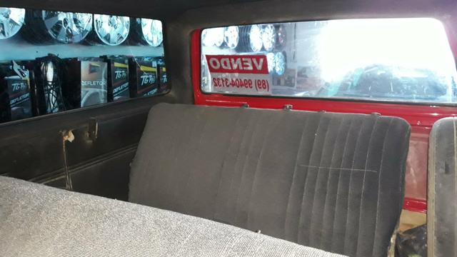 D 20 Veraneio -12 Lugares + bagageiro/Diesel - Motor Pericles 4cc /1991 -Ar Condicionado - Foto 10