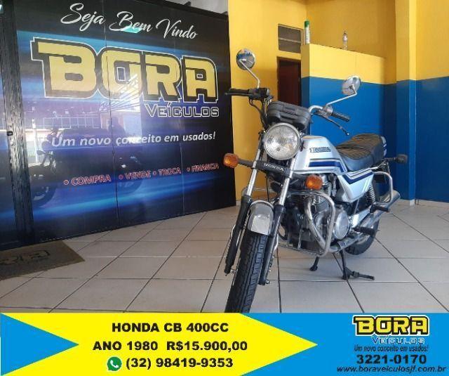 Honda CB 400 raridade!! - Foto 2