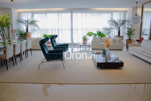Apartamento com 5 dormitórios à venda, 488 m² por R$ 3.300.000,00 - Setor Nova Suiça - Goi - Foto 9