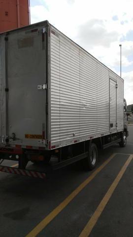 Vendo Ford cargo 816 S BAÚ - Foto 4