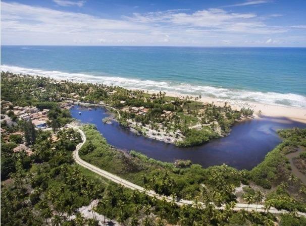 Village de 2 e 3/4 no Riverside Imbassaí, Próximo de Praia do Forte - Foto 3