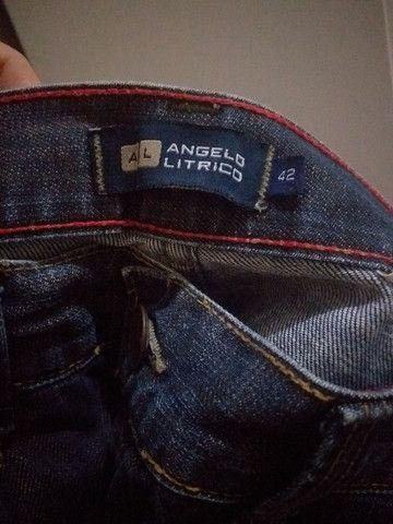 Calça nova de marca Tam 42 - Foto 3