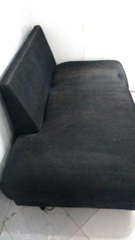 Sofá pequeno mais espaçoso