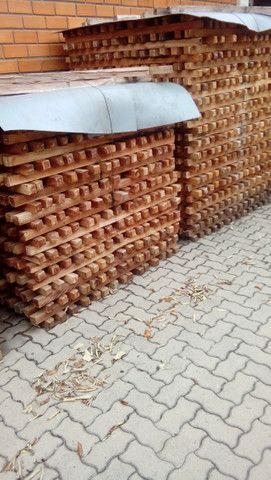 Mourão. Pilar palanque eucalipto vermelho - Foto 5