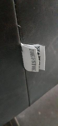 Poltrona TokStok em Couro Legítimo Marrom - Foto 5