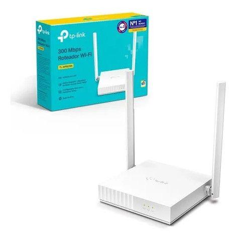 Roteador TP Link 2 Antenas 300mbps WR829N Novo Lacrado - Loja Natan Abreu