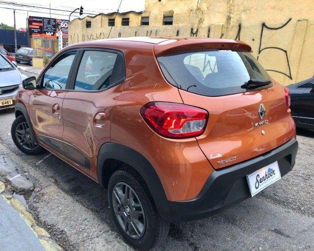 Renault Kwid 1.0 Intense Laranja Ano 2018 - Foto 5