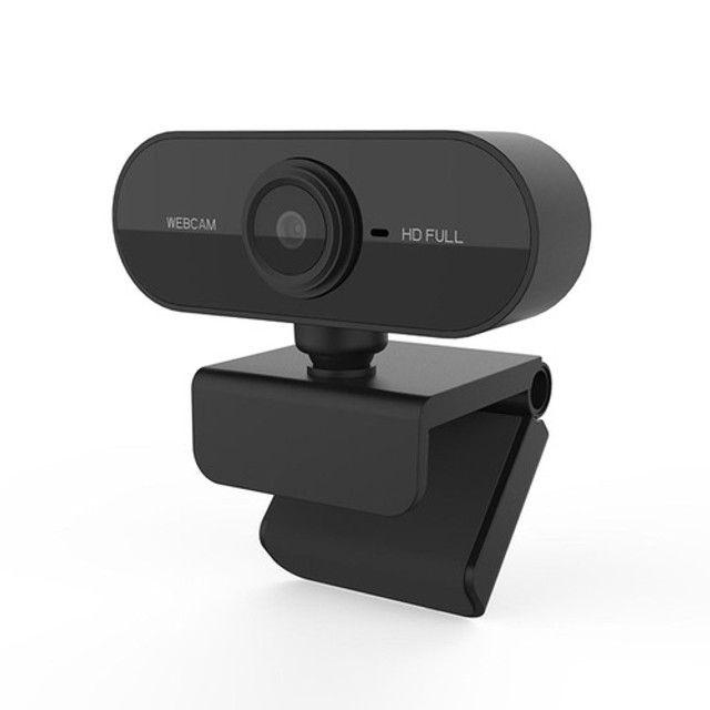 Webcam Camera Usb Full Hd 1080P Com Microfone Visão 360° - Foto 2