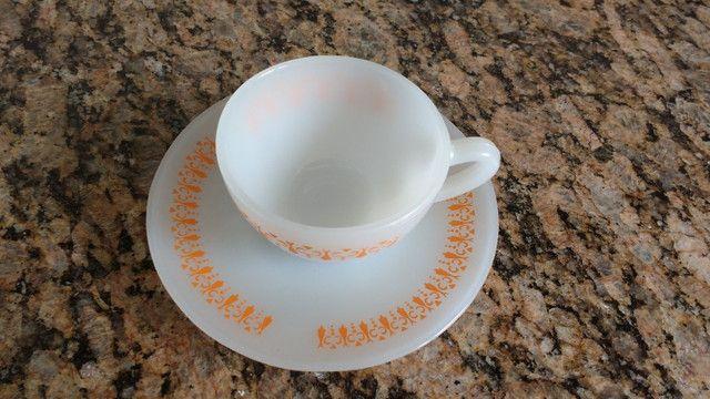 Xícara de cafezinho colorex gravatinha - Foto 2