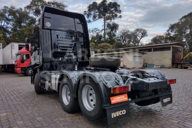 Iveco Stralis HI Way 600S44 6X2, ano 2018/2019 - Foto 8