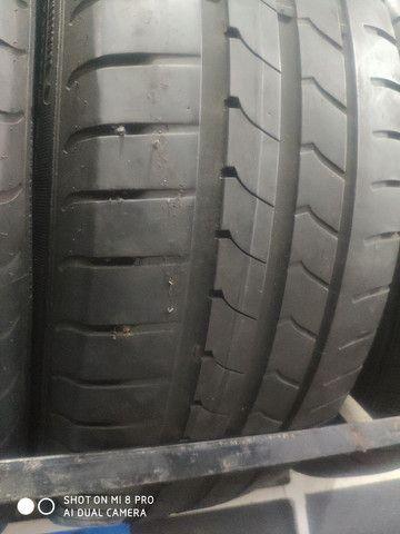 Pneu 205/55-16 Michelin, Bridgestone, Goodyear sem concertos em média 70% de vida útil - Foto 2