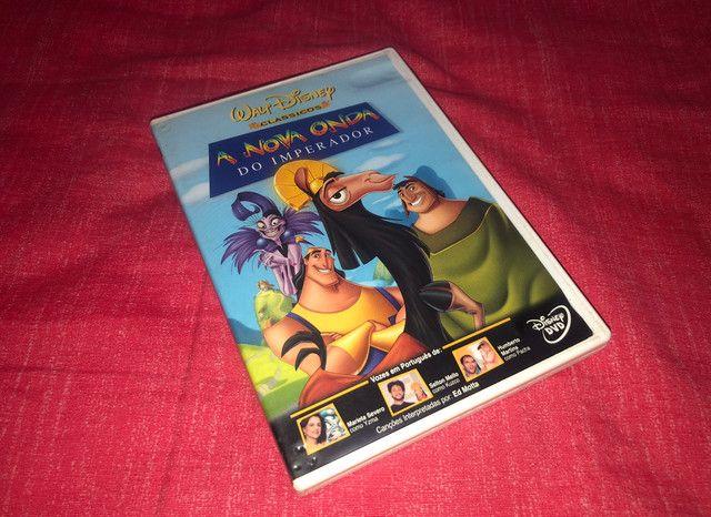 DVD A Nova Onda do Imperador - 1ª Edição - Disney  - Raríssimo