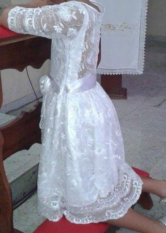 Vestido para Batizado ou Primeira Eucaristia  - Foto 2