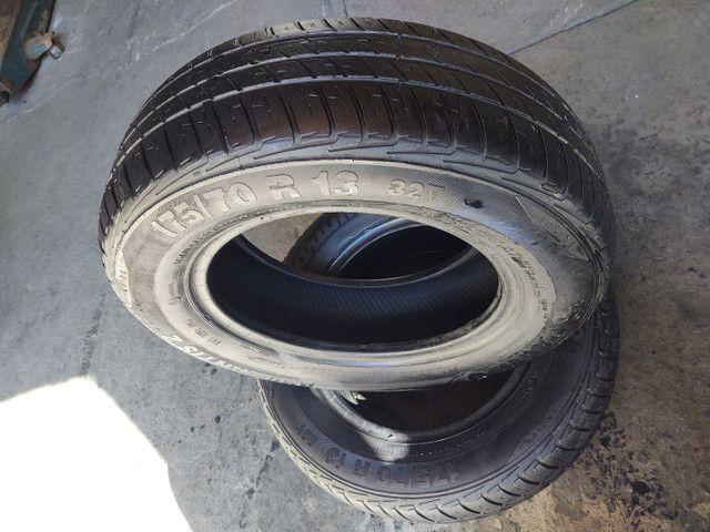 02 pneus aro 175/70/13 meia_vida