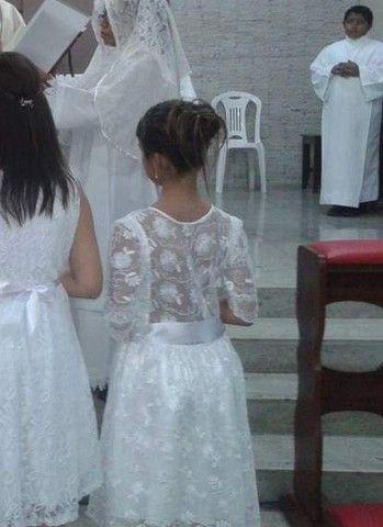 Vestido para Batizado ou Primeira Eucaristia  - Foto 3