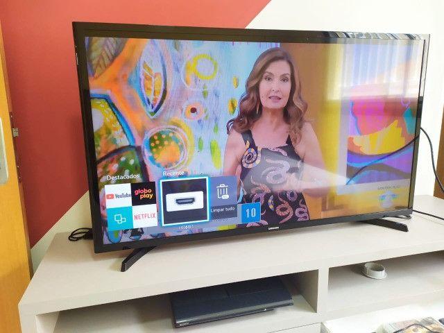 Smart TV 40' Samsung - Defeito na tela