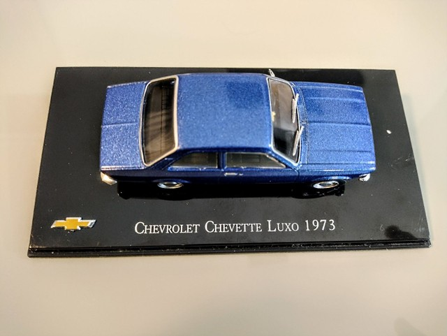 Miniatura Chevrolet Chevette Luxo 1973 1:43 - Foto 5
