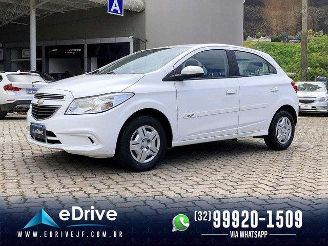 Chevrolet Onix LT 1.0 Flex 5p Mec. - Entrada no Cartão - Financio - Troco - Uber - 2015 - Foto 4