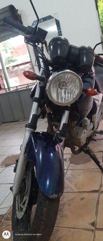 Vendo uma moto fazer 250 azul - Foto 4