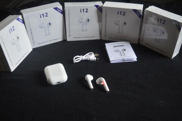 Fone Bluetooth i12 TWS - Foto 2