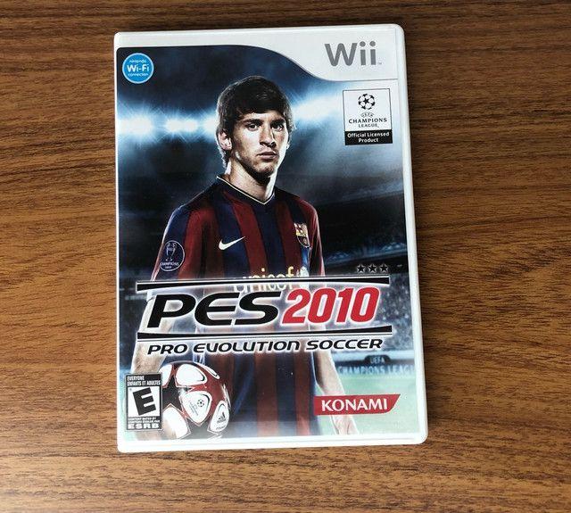 Jogo PES 2010 Wii