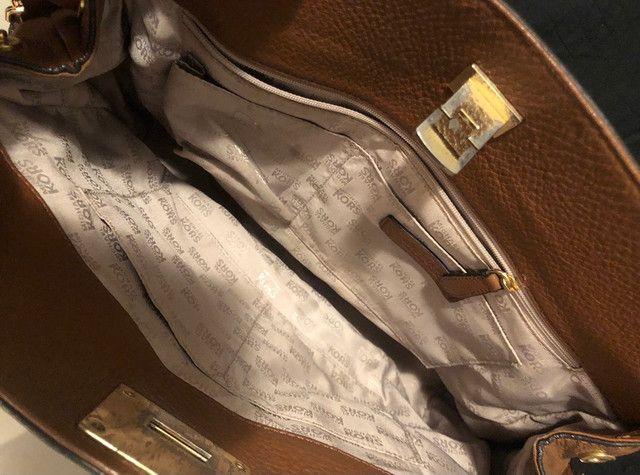 Bolsa em couro Michel Kors - Foto 3