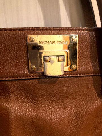 Bolsa em couro Michel Kors - Foto 2