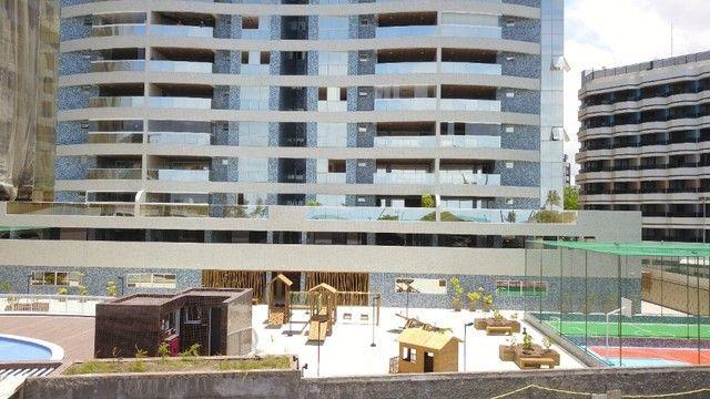 Apartamento com 300m², 4 suítes e sala para 3 ambientes a com vista para o mar de Jatiuca - Foto 7